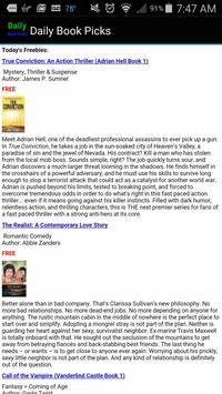 Free & Discount Kindle Books apk screenshot