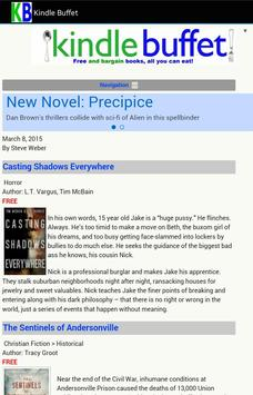 Daily Free Books for kindle poster