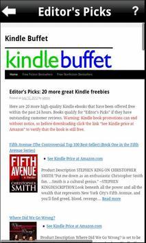 Kindle Buffet - Free eBooks poster
