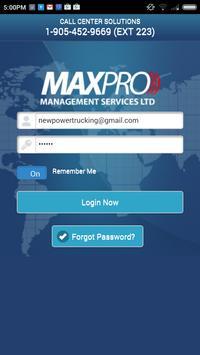 Maxpro apk screenshot