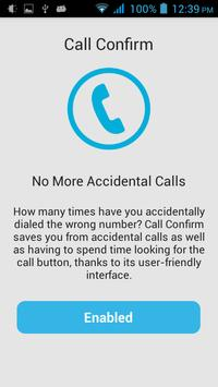 Call Confirm poster