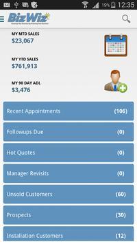 BizWiz Sales App poster