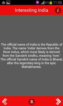 Indian Facts apk screenshot