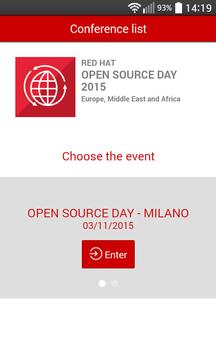 Red Hat Open Source Day 2015 poster