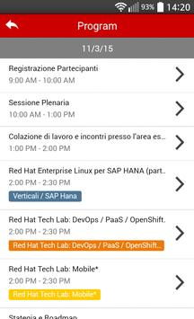 Red Hat Open Source Day 2015 apk screenshot
