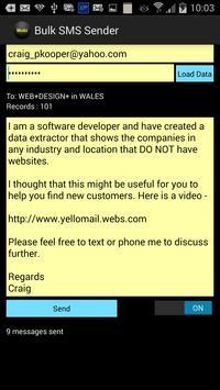B2B Bulk SMS poster