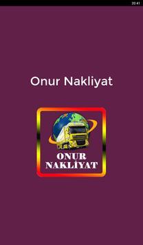 Onur Nakliyat apk screenshot