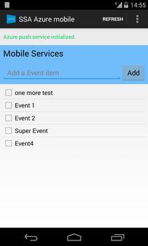 SSA Azure mobile utility apk screenshot