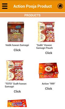 Action Pooja Products apk screenshot