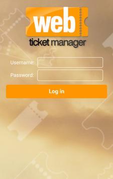 WebTicket Manager apk screenshot