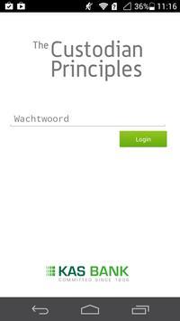 The Custodian Principles App poster
