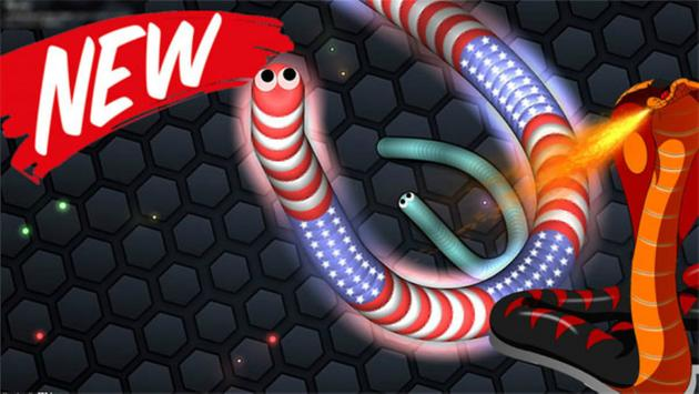 Snakes for slither io poster