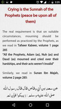 Weeping on Imam Husain (a.s.) apk screenshot