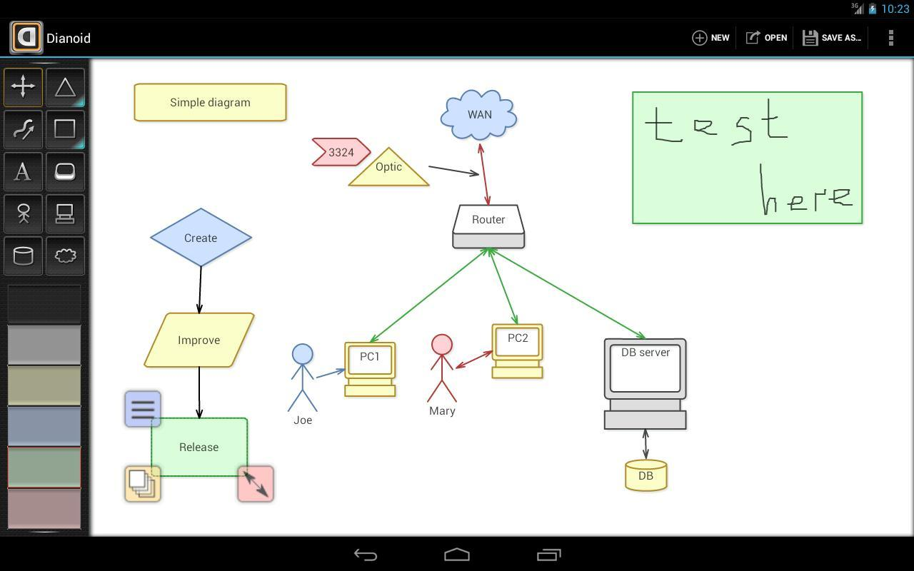 Dianoid Lite Diagram Editor Apk Download Free