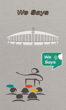 We Says poster
