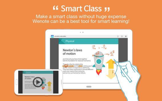 Wenote Smart apk screenshot