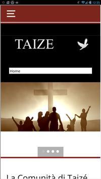 Taizè in campania poster