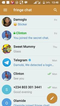 fringe chat apk screenshot
