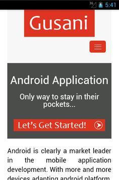 Gusani Infotech apk screenshot