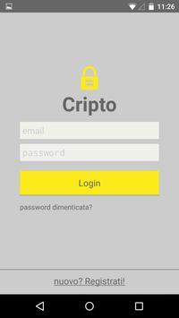 Cripto - Send encrypted text apk screenshot