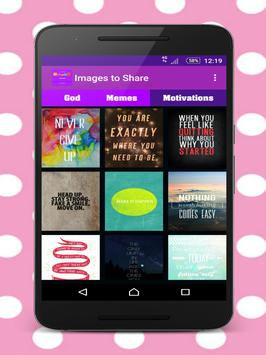 Pictures to share by chat apk screenshot