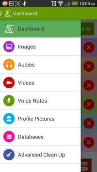 Cleaner for WhatsApp apk screenshot