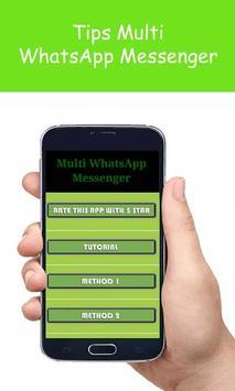 Tips Multi WhatsApp Messenger poster