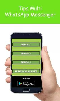 Tips Multi WhatsApp Messenger apk screenshot