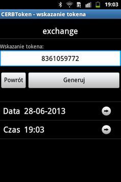 CERBToken apk screenshot