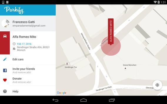 Parkify - Where is my car? apk screenshot