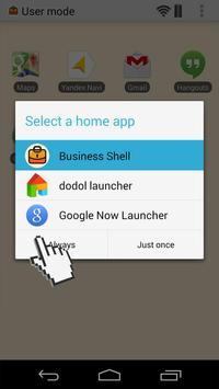 Business Taxi Shell apk screenshot