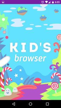 Safe Internet Browser for Kids poster