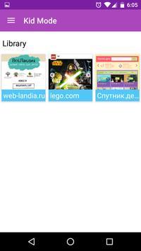 Safe Internet Browser for Kids apk screenshot