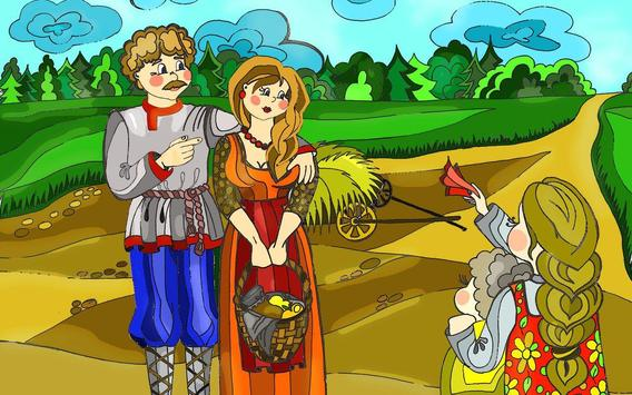 Geese and swans - Fairy Tale apk screenshot