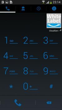 WhiteLabel (CloudServ) apk screenshot