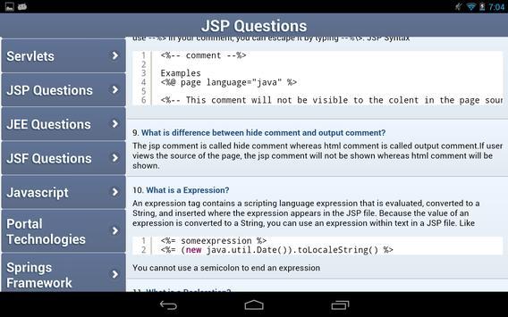 Interview FAQs apk screenshot