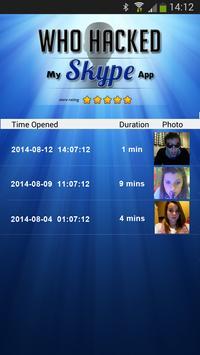 Who Hacked My Skype? apk screenshot