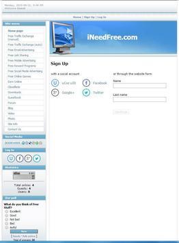 iNeedFree apk screenshot
