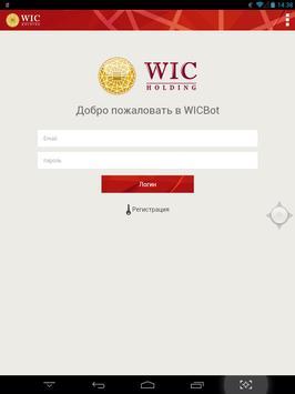 WIC Bot poster