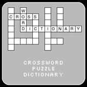 Crossword Dictionary Demo engl icon