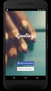 Greetings - Great Messages SMS poster