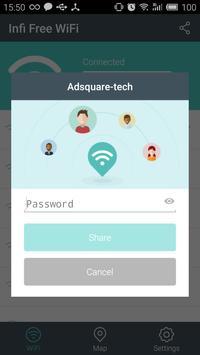 Infi Free WiFi apk screenshot
