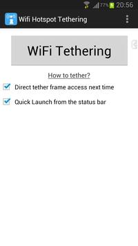 WiFi Tethering /WiFi HotSpot poster