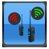 Wifi Walkie Talkie Free icon