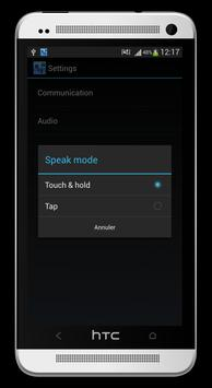 Wifi Walkie Talkie Free apk screenshot
