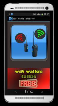 Wifi Walkie Talkie Free poster
