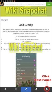 wiki for snapchat apk screenshot