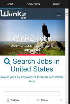 Job Search Wiinkz poster