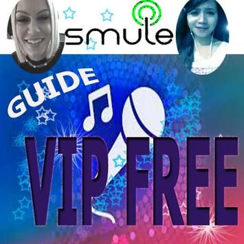 Guide Smule VIP free poster