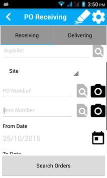 More4Apps Mobile PO Receipting apk screenshot